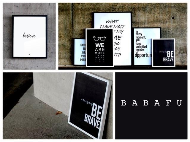 plakaty typograficzne, plakaty biało-czarne