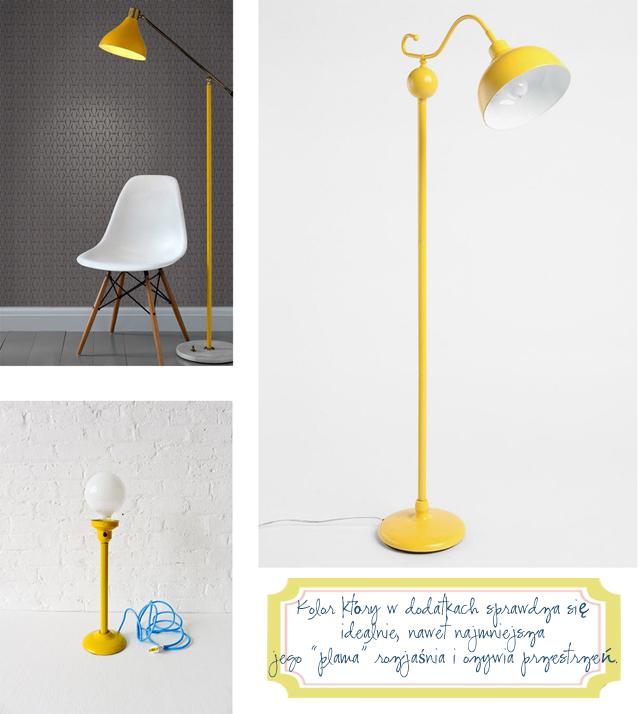 żółta-lampa