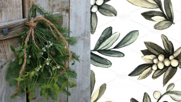 pattern-with-sprigs-of-mistletoe_m-o_Fotor_Collage