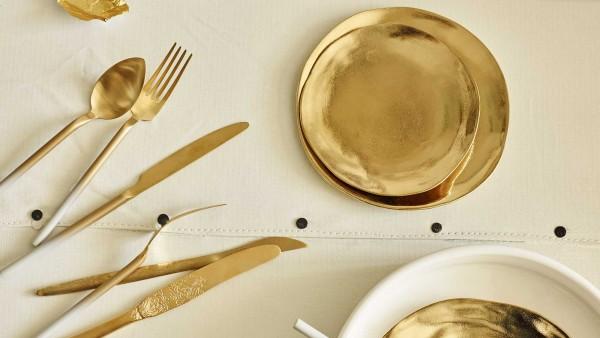 goud-servies